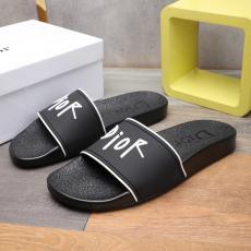 ディオール Dior カジュアルシューズ牛革防滑おしゃれコンビネーションしやすい軽量スリッパ 人気商品fashion2色格安コピー口コミ工場直売店