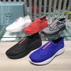 PRADA プラダ メンズ5色スニーカー運動靴ランニングシューズ 通気性激安靴代引き