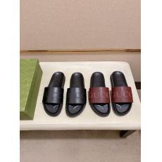 グッチ GUCCI カジュアルシューズ牛革コンビネーションしやすいfashion2色スリッパ スーパーコピーブランド靴工場直売店