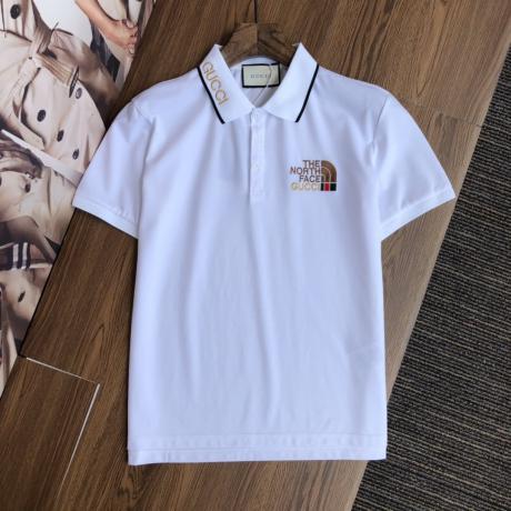 GUCCI グッチ 春夏定番通気簡潔半袖刺繍2色ブランドコピー 後払いおすすめ line