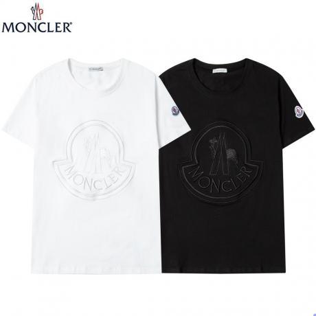 争奪戦☆レア MONCLER モンクレール 新作人気商品半袖刺繍コピー代引き安全n級品後払い