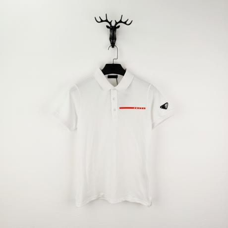 ブランド販売 プラダ PRADA 春夏ファッション百搭 人気商品シンプルさ綿半袖Polo衫2色Tシャツ最高品質コピー代引き買ってみた