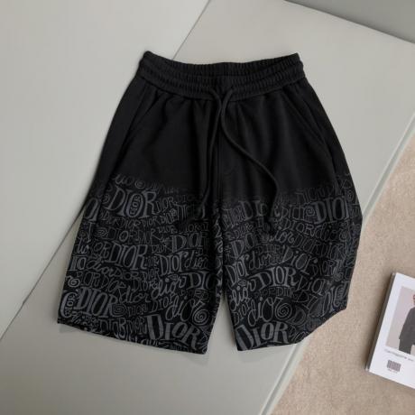 Dior ディオール 定番ファッション新作通気快適百搭 グラデーションショートパンツプリント2色本当に届くブランドコピー工場直営安全後払い通販サイト