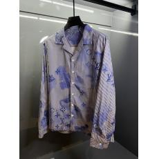 ブランド国内 ヴィトン LOUIS VUITTON  水彩通気綿ストライプ値下げ 激安Tシャツ代引き