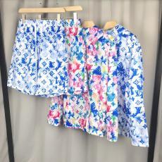 ルイヴィトン LOUIS VUITTON  新作柔らかい絹通気快適日焼け止め服バイザー 軽薄柔軟 プリント絶妙な日焼け止めプリント4色スーパーコピーTシャツおすすめサイト