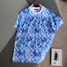 機内持ち込み可 ルイヴィトン LOUIS VUITTON  春夏ファッションTシャツ半袖ラウンドネック スーパーコピー代引き可能