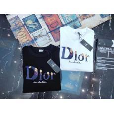 芸能人も愛用 Dior ディオール 定番新作プリント綿半袖プリントブランドコピー安全後払い