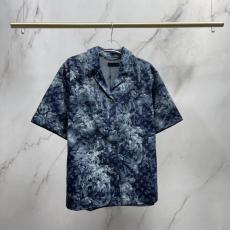 ヴィトン LOUIS VUITTON  メンズレディース春夏デニムプリントスーパーコピーTシャツ安全後払い専門店