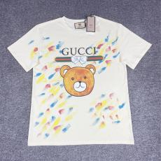 グッチ GUCCI 高品質 プリントTシャツ半袖プリントスーパーコピーブランドTシャツ工場直売サイト ランキング
