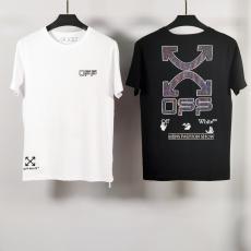 オフホワイト Off White 春夏新作Tシャツ半袖刺繍スーパーコピー 国内安全優良店