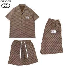 GUCCI グッチ モノグラム刺繍2色セットファッションブランドコピー販売買ってみた優良店