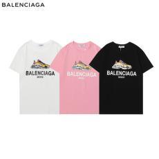 バレンシアガ BALENCIAGA メンズレディースカジュアル字母ロゴ 新作Tシャツ本当に届くスーパーコピー工場直営店 国内発送ちゃんと届く