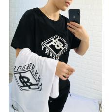 人気話題コラボ Burberry バーバリー Tシャツ半袖プリント本当に届くブランドコピー店 口コミ
