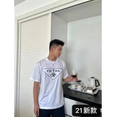 PRADA プラダ 新作ラウンドネック Tシャツカジュアルシンプルさブランドコピー 工場直売口コミ