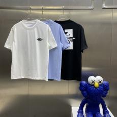 Dior ディオール メンズレディース春夏新作プリントTシャツ半袖プリント3色スーパーコピー 口コミ工場直営