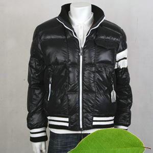 [雑誌掲載商品] モンクレール メンズ ジャケット MONCLER7683688 ブラック?ホワイト