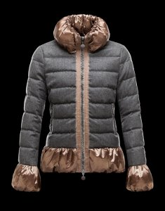 モンクレール 2018 秋冬 レディース Moncler S Makori wool blend padded jacket グ