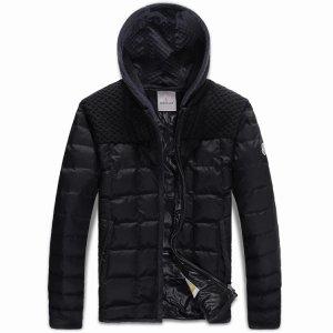 MONCLER 人気 モンクレール メンズ ダウンジャケット 新着商品 ブラック