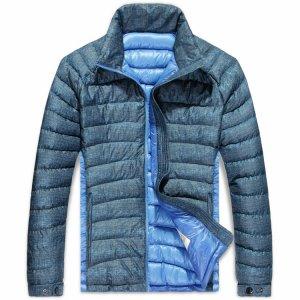 MONCLER 人気 モンクレール メンズ ダウンジャケット 新着商品 ブルー