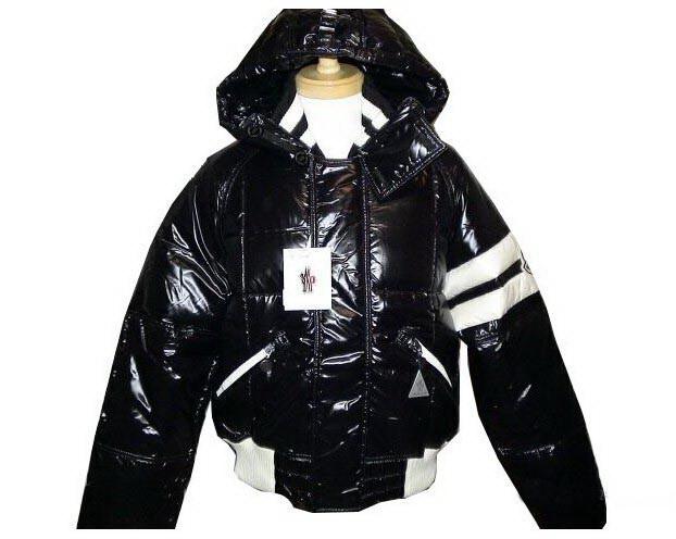 [雑誌掲載商品] モンクレール メンズ ジャケット MONCLER7683672 ブラック?ホワイト