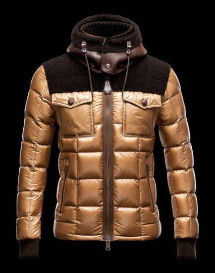 モンクレール 2018 秋冬 メンズ ジャケット MONCLER LAZARE ゴールド