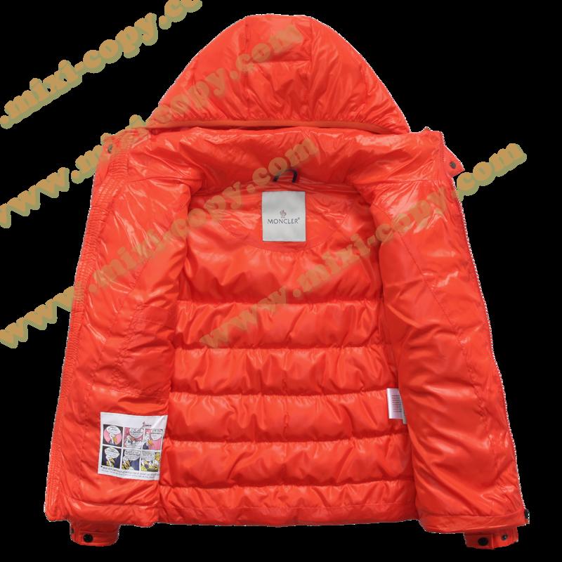 モンクレール キッズ ダウンジャケット moncler-k097 オレンジ