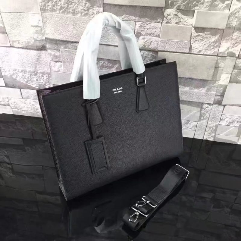 ブランド後払い プラダ  PRADA  2VG011-2FA-1 メンズ 斜めがけショルダー トートバッグ レプリカ販売バッグ