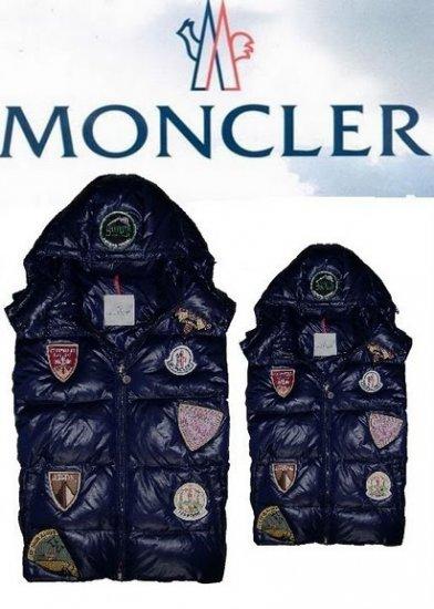 モンクレール キッズ ベスト moncler-k2030 ダークブルー