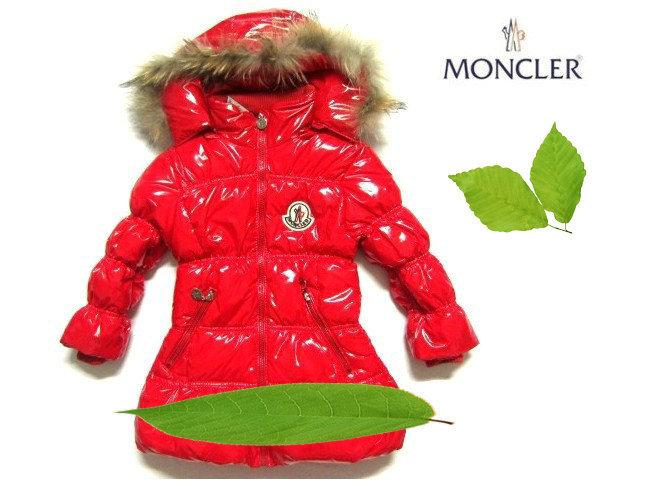 モンクレール キッズ ロングコート moncler-k2052 レッド