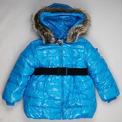 モンクレール キッズ ロングコート moncler-k073 ブルー
