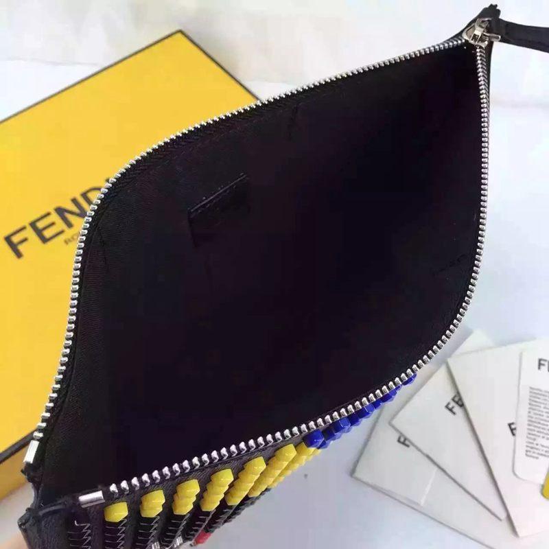 ブランド後払い フェンディ FENDI   クラッチバッグコピー代引き安全口コミ後払い