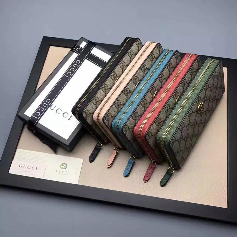 ブランド通販 グッチ GUCCl セール価格 456117-5  長財布 スーパーコピーブランド代引き財布