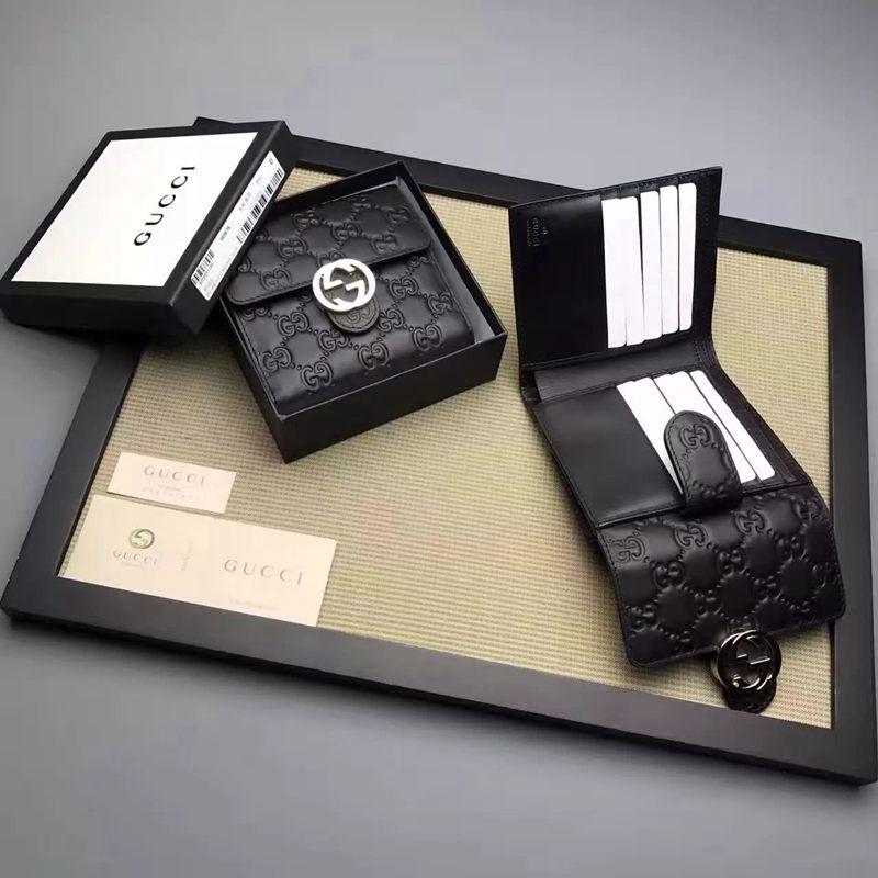 ブランド通販 グッチ GUCCl  369676-3  短財布 レプリカ販売口コミ