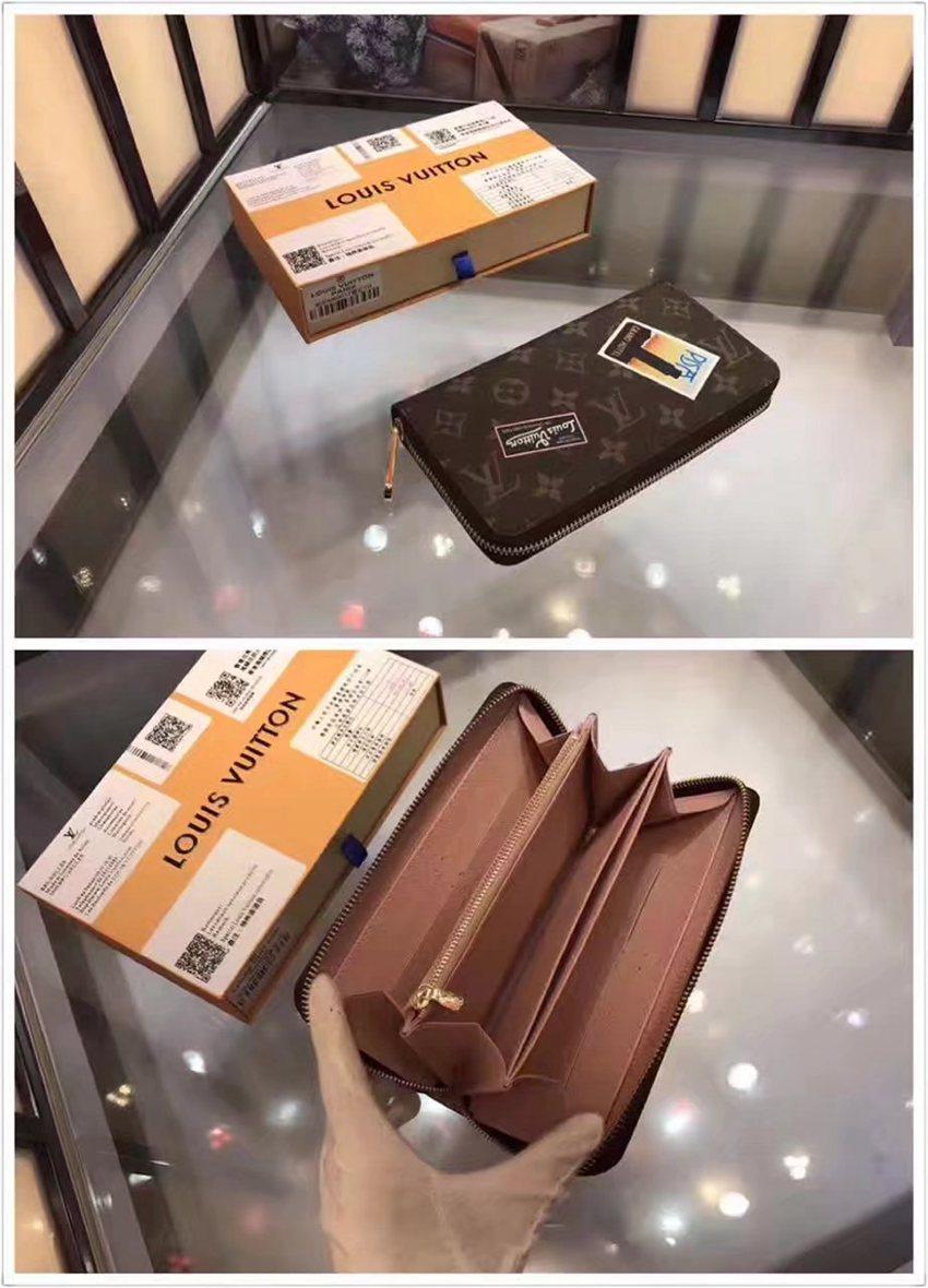 高評価 ルイヴィトン  LOUIS VUITTON  M60017-4 長財布  ブランド通販口コミ