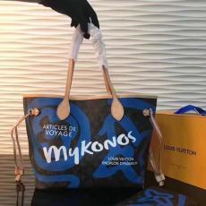 店長は推薦しますルイヴィトン  LOUIS VUITTON 特価 N41050-2  青いトートバッグ安全後払いブランドコピー激安販売専門店