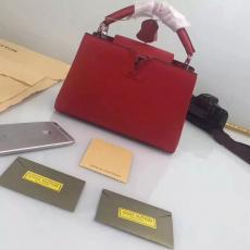 おすすめルイヴィトン  LOUIS VUITTON  M94519-2  赤色トートバッグ偽物代引き対応