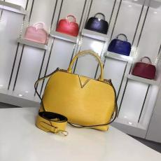 良品LOUIS VUITTON ルイヴィトン セール 42693-1  レディース 黄色ショルダーバッグ  斜めがけショルダー トートバッグバッグ最高品質コピー代引き対応