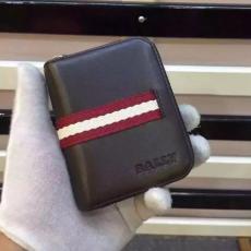 ブランド国内 バリー BALLY 値下げ   短財布 レプリカ財布 代引き