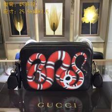 ブランド通販 グッチ  GUCCI  453572-1 黒色ショルダーバッグ  斜めがけショルダーブランドコピーバッグ専門店