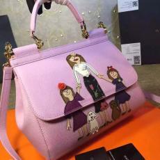 ブランド販売 ドルチェ & ガッバーナ  Dolce & Gabbana   斜めがけショルダー トートバッグ ブランドコピー代引きバッグ