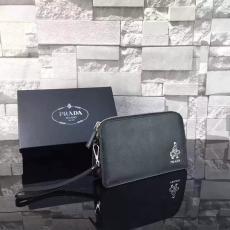ブランド後払い プラダ PRADA   0057-6 メンズ クラッチバッグ激安代引き口コミ