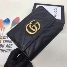 ブランド可能 GUCCl グッチ  474802-1 短財布  ブランド財布通販