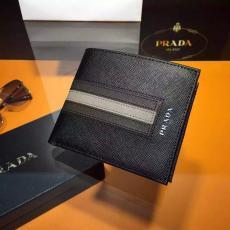 ブランド国内 プラダ PRADA セール価格 2M0079A-1  短財布 レプリカ販売財布