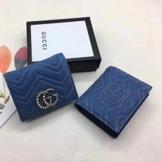 ブランド販売 グッチ GUCCl  466492 短財布  最高品質コピー財布